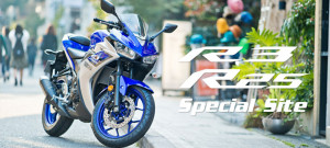 YAMAHA R25 R3 バイク