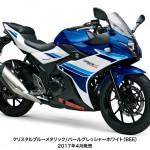 スズキ新型250cc GSX250R 発表 !!